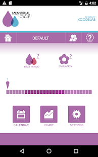 Menstrual Cycle - Woman Log- screenshot thumbnail