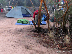 Photo: Morning camp at Mc Dermid Rock - The Granite and Woodlands Discovery Trail