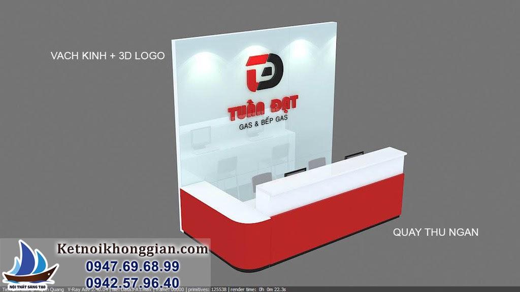 thiết kế cửa hàng thiết bị nhà bếp đẳng cấp tại tp tuyên quang