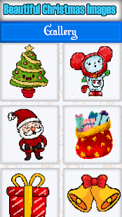Christmas Color by Number Pixelart Sandbox Color