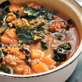 Kale And Red Lentil Soup