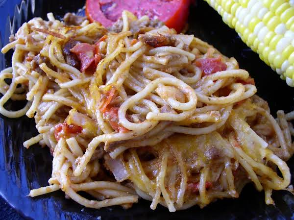 Tex Mex Spaghetti Recipe