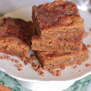 Brown Sugar Cinnamon Sugar Cookie Bars.