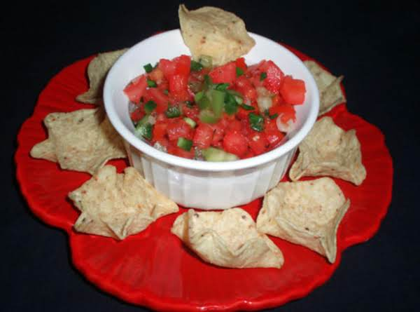 Fresh Tomato Salsa Recipe