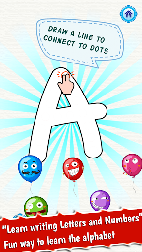 ABC dot to dot Letters - learn to write alphabet 1.0.0 screenshots 5