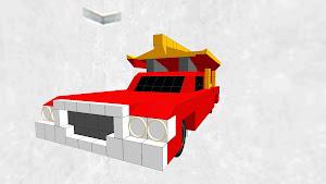 紅い霊柩車