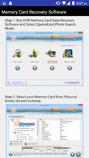 Memory Card Recovery Software 3.2 screenshots 4