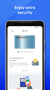 Google Pay: Pay with your phone and send cash Screenshot