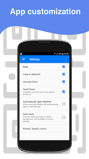 Fast QR Scanner - Barcode Scanner - náhled