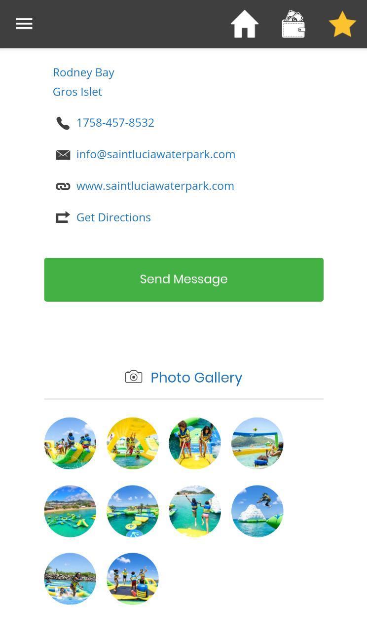 Скриншот BelleCarib - Discover St. Lucia