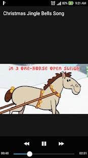 Christmas Jingle Bells Song Kids Offline Lyrics - náhled