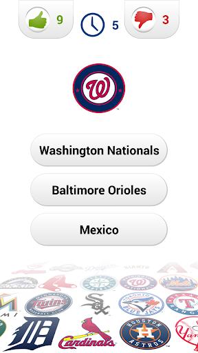 Logo Baseball Quiz Screenshot