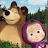 Masha and the Bear. Educational Games logo