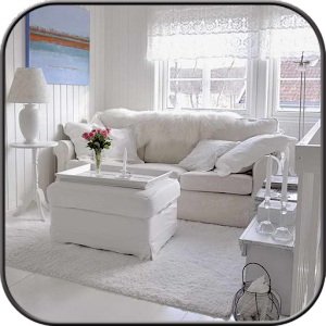 shabby chic living room android apps on google play. Black Bedroom Furniture Sets. Home Design Ideas