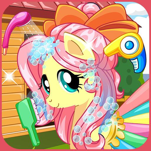 Pony makeover hair salon Icon