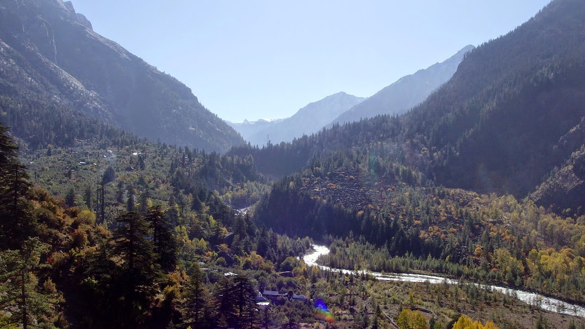 Baspa Valley, Ahead of Sangla on way to Chitkul