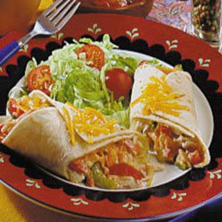 Turkey Burritos.