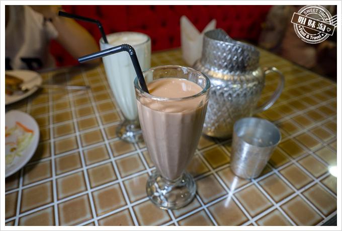 瑪哈印度餐廳印度冰奶茶