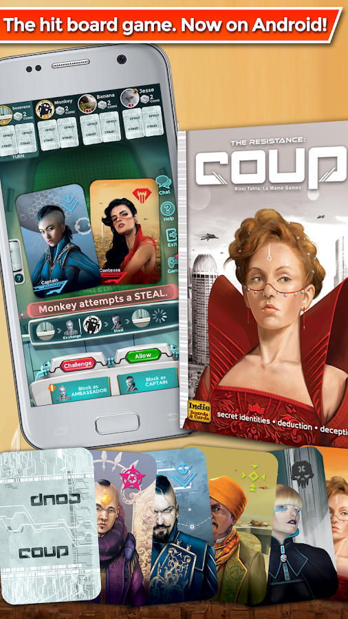 Coup- screenshot