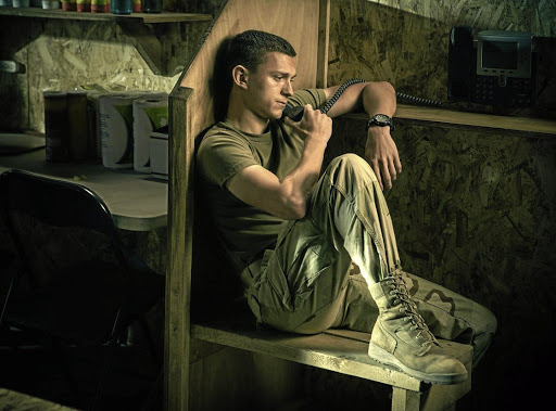 Tom Holland plays a young recruit and later war medic who becomes addicted to drugs in his new movie 'Cherry'.