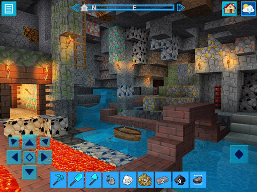 AdventureCraft: 3D Block Building & Survival Craft  6