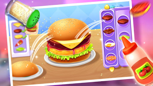 🍔🍔Make Hamburger - Yummy Kitchen Cooking Game 3.2.5022 pic 1