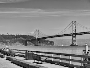 Photo: The Other San Francisco Bridge: The Bay Bridge