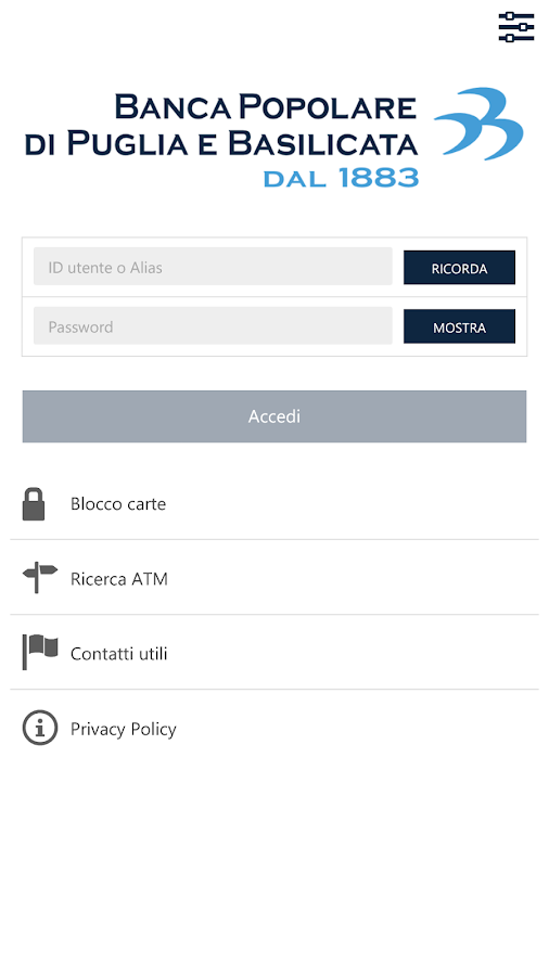 BPPB Mobile Banking- screenshot