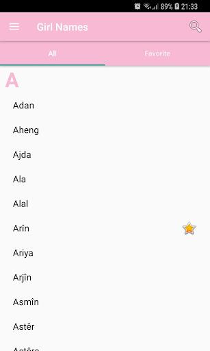 Kurdish First Names Apk 2
