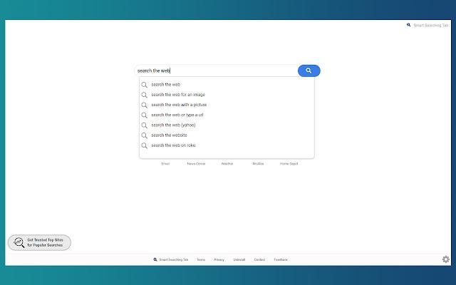 Smart Searching Tab