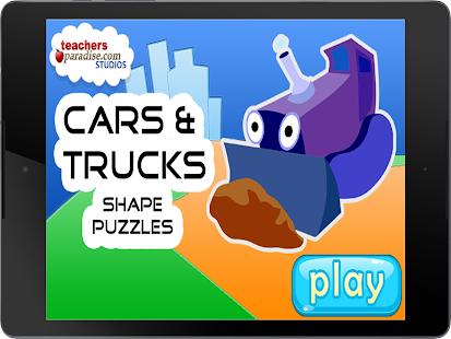 Cars & Trucks Kids Puzzle Game Screenshot 9