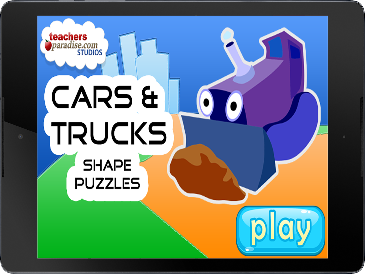 Cars & Trucks Kids Puzzle Game- screenshot