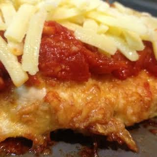 Chicken Parmagiana.