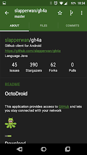 OctoDroid for GitHub- screenshot thumbnail