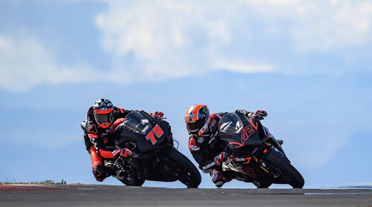 Alex Rins y Albert Arenas han rodado este fin de semana en el Andalucía Circuit