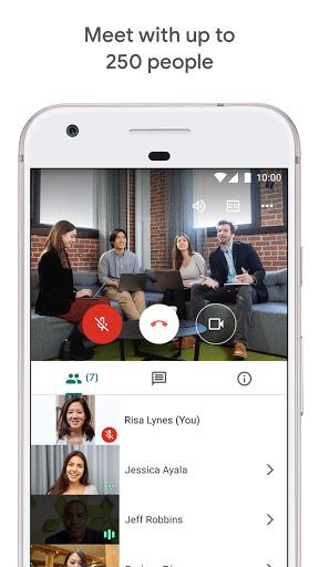 Google Meet - Secure Video Meetings 44.5.324814572 Screenshots 3