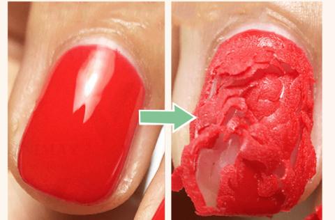 Soak-Off Nail Polish Remover