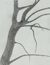 Photo: Winter Tree, little pencil sketch on a dreary afternoon during the deep-freeze of an endless winter.