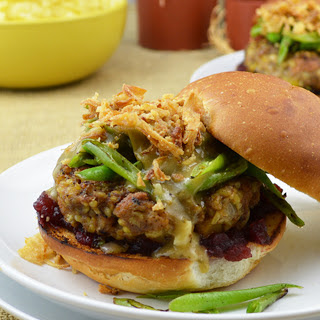 Thanksgiving Burgers [Vegan]