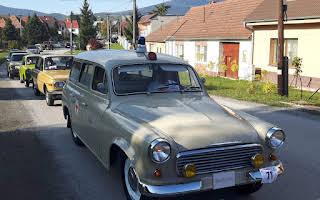 Skoda 1202 Sanitka Rent Bratislava