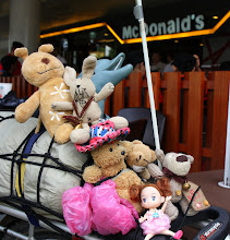 Photo: Year 2 Day 132 - The Menagerie at McDonalds (Our Collection Keeps Growing)