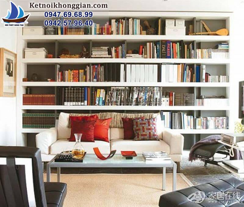 trang trí và thiết kế phòng đọc sách gia đình