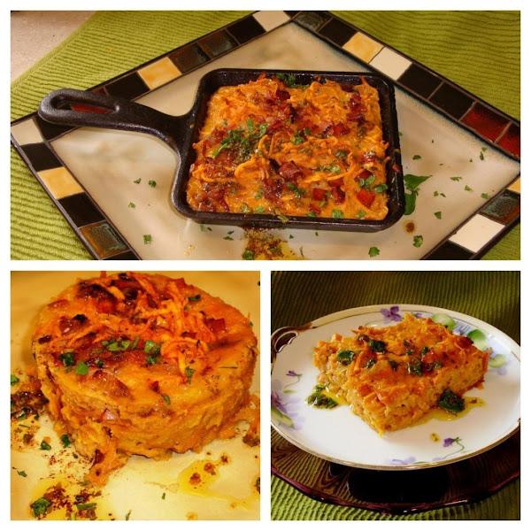 Sweet Potato Tart With Chili Lime Cilantro Sauce Recipe