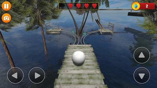 Code Triche Balancer Ball 3D: Rolling Escape  APK MOD (Astuce) screenshots 1