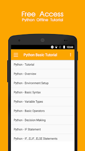 Python Offline Tutorial- screenshot thumbnail