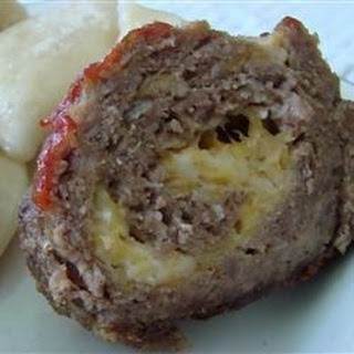 Cheesy Meatloaf.