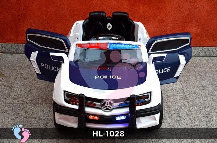 Xe ô tô điện cảnh sát HL-1028 7