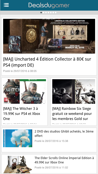 Deals du Gamer - Bons plans JV- screenshot