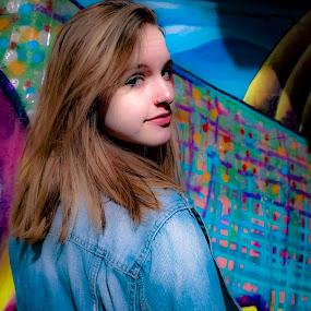 by David  Clayton - People Portraits of Women ( pretty, natural light, teen, portrait, pretty girl, fashion photography, teenager, fashion,  )