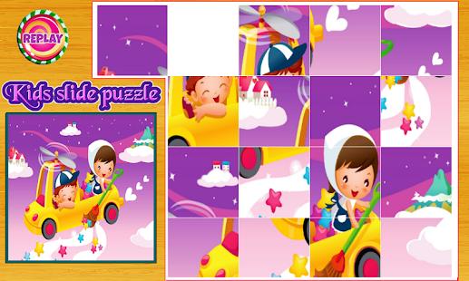 Kids Slide Puzzle - náhled